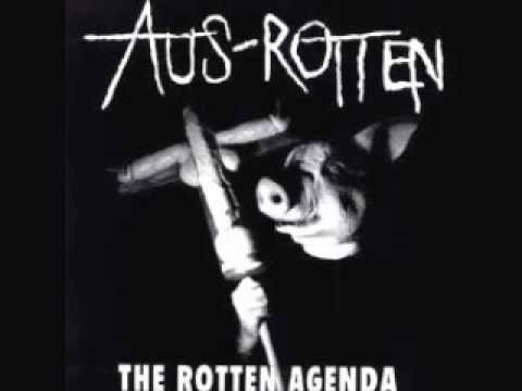 AUS-ROTTEN - The Rotten Agenda LP