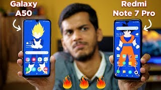 Redmi Note 7 Pro vs Samsung Galaxy A50 DETAILED COMPARISON! Camera, Display, Battery, Performance
