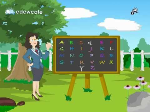 Edewcate english rhymes – The English Alphabet (ABC) song