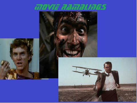 Caligula, The Evil Dead Trilogy, And North By Northwest - Movie Ramblings video