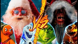 SANTA TEAM VS. KRAMPUS TEAM ║ COMBATES MORTALES DE RAP ║ JAY-F FT. VARIOS ARTISTAS