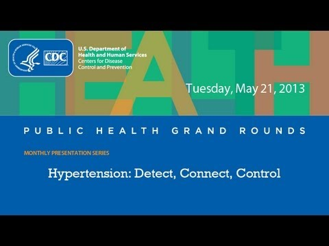 Hypertension: Detect, Connect, Control