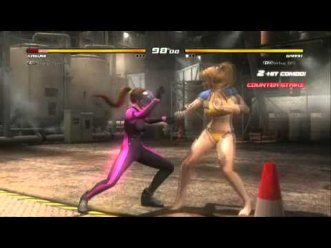 Dead Or Alive 5 Ultimate - Momiji, Christie and Sarah - Tropical Edition