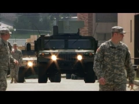 Missouri National Guard arrives in Ferguson to quell unrest