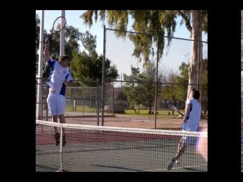 Desert Christian High School Tennis Team 2010