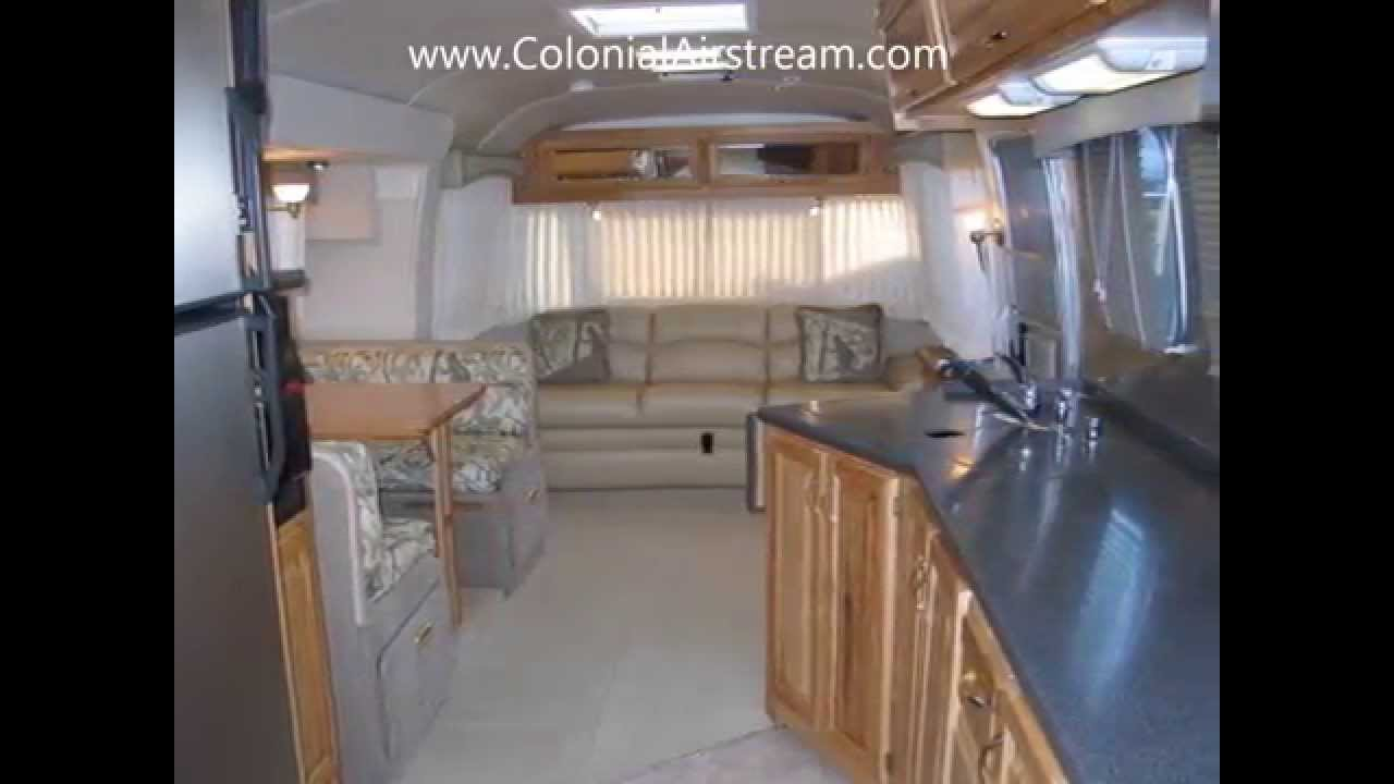 2006 airstream classic limited 34w slide out dinette queen for Classic beds for sale