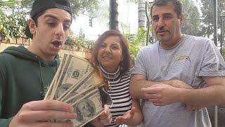 BURNING $1,000 MAGIC TRICK PRANK!!