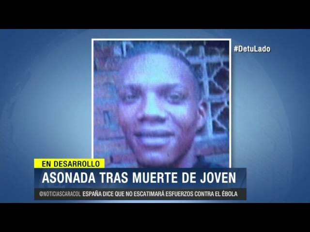 Asonada en Puerto Tejada tras confusa muerte de hombre que había sido capturado- 20 de Octubre 2014