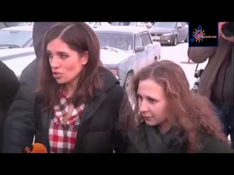 Pussy Riot pair detained in Sochi by Russian police   YouTube