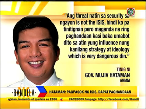 ARMM wary of ISIS