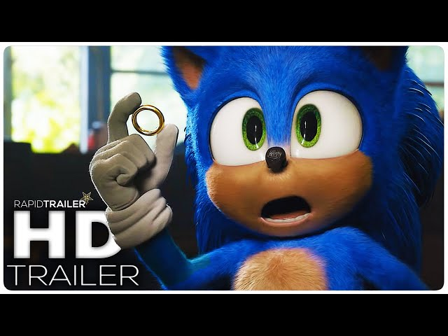 SONIC THE HEDGEHOG Official Trailer #2 (2020) Jim Carrey, Live Action Movie HD thumbnail