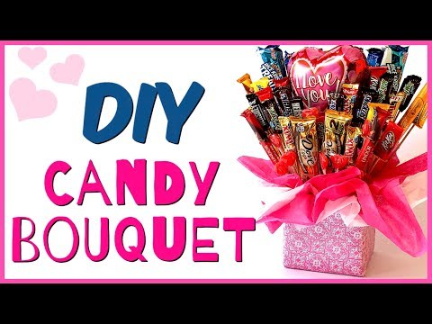 How to make a CANDY BOUQUET | DIY Gift Ideas