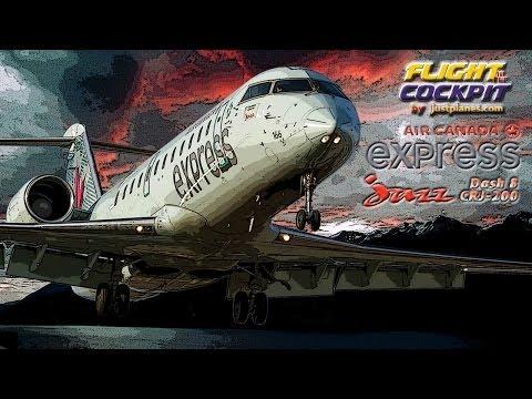 AIR CANADA EXPRESS by JAZZ (West Coast)