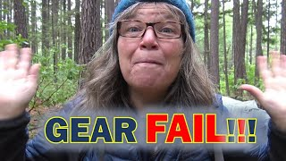 PCT PREP: First Overnight Backpacking Trip GEAR FAIL!