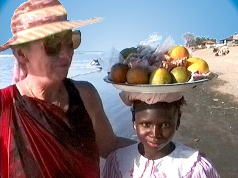 Gambia - Senegambia Beach - Banjul Albert Market