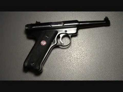 Ruger Mark III Standard 22 Pistol Shooting and Review
