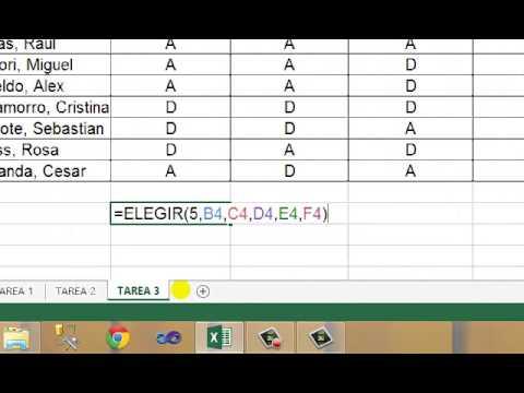 Microsft Excel - Práctica 34.2