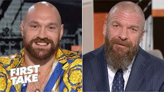 Tyson Fury on WWE debut: I am a 'natural-born entertainer' | First Take