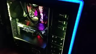 i9-9900K build, Phanteks case, Gigabyte Aorus Z390 Ultra