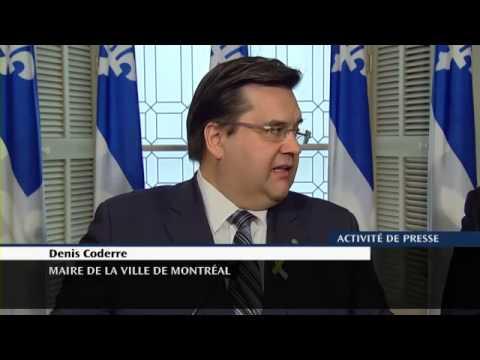 Point de presse - Projet de loi créant le rôle de l'Inspecteur général à la Ville de Montréal