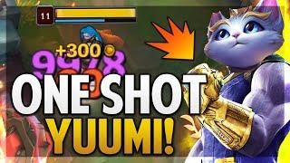 ¡YUUMI ONE SHOT | 10K DE DAÑO EN UN AUTO! | League of Legends