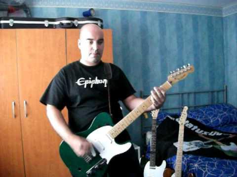 Status Quo - Belavista Man Live (BBC Maida Vale) - Guitar Cover - Francis Rossi Part