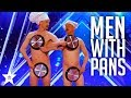 Men with Pans SHOCK the Audience | America's Got Talent 2017 MP3