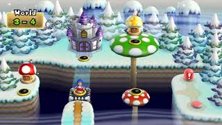 [TAS] New Super Mario Bros. Wii 100% world 3 (3/9)