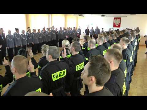 Ślubowanie Nowo Przyjętych Policjantów, Odznaczenia I Wyróżnienia W KWP W Bydgoszczy