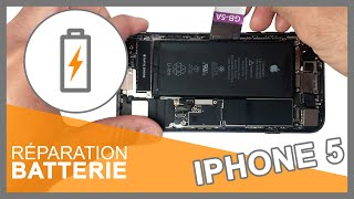 Tuto : Batterie interne iPhone 5