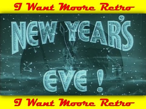 Movie Theater Intermissions - New Year's Eve (1930s-40s)