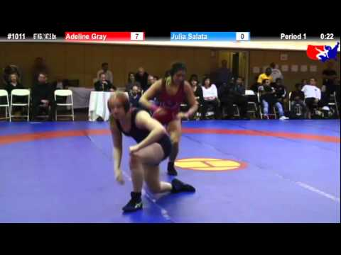 NYAC 67 KG / 147.5 lbs: Adeline Gray vs. Julia Salata
