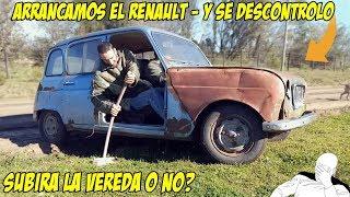 ARRANQUE Y ACELERACIÓN RENAULT 4L (Años Parado) - Radialero Team