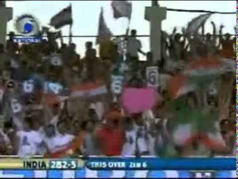 Dhoni's Helicopter Shot Six - Http:  cooolcricket.blogspot  video