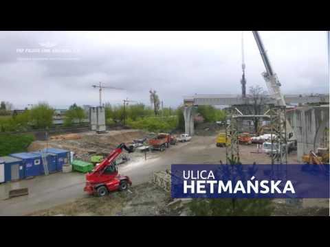 Budujemy łącznicę Kolejową W Krakowie