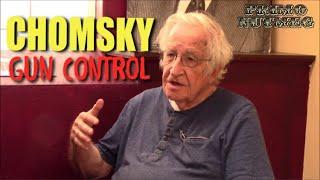 Noam Chomsky on Gun Control