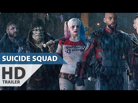 Suicide Squad NEW International Trailer (2016) DC Superhero Movie HD
