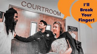 Photography Is Not A Crime - 1st Amendment Audit Sacramento Courthouse - Bailiff Takes Phone