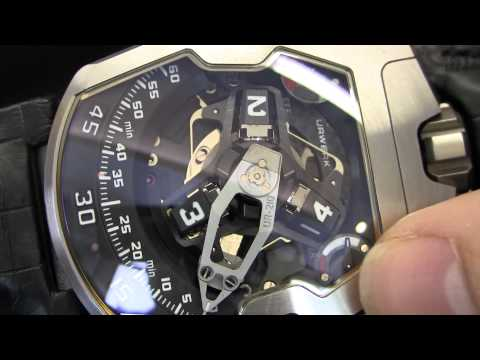 Urwerk UR-210 Watch Explained Hands-On Closeup Video
