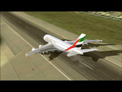 (HD) How to do a basic ILS Landing (Flight Simulator)