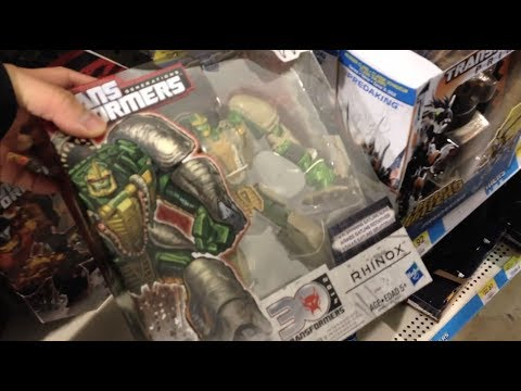 2014 Toy Hunt Ep. 3 - Seeking Transformers Generations At Walmart video