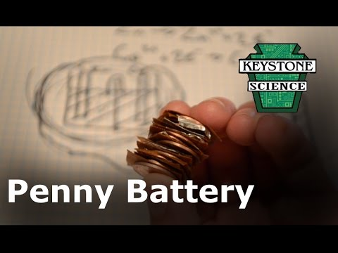 Battery from Pennies