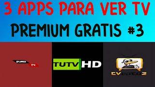 3 EXELENTES APLICACIONES PARA VER TV PREMIUM GRATIS #3
