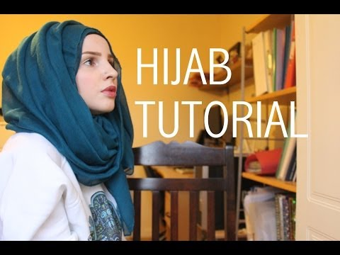 Simple Hijab Tutorial | Safiyahhh video