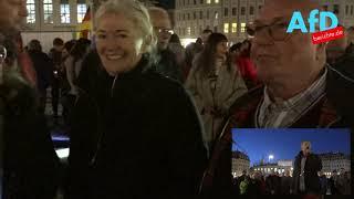 Im Herzen von Dresden - Ergreifende Demo gegen den Migrationspakt