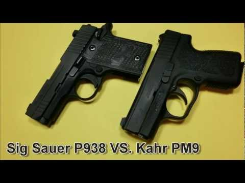 Sig P938 Compared To Kahr PM9 - Review Part 3