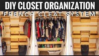 download lagu Diy Closet Organization  French Cleat  Woodworking gratis