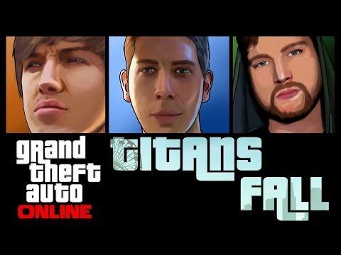 GTA 5 Online - TITANS FALL