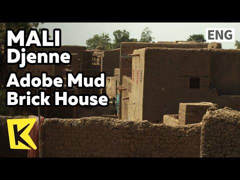 【K】Mali Travel-Djenne[말리 여행-젠네]흙으로 빚은 마을/Adobe Mud Brick House/Village/Children/Alley
