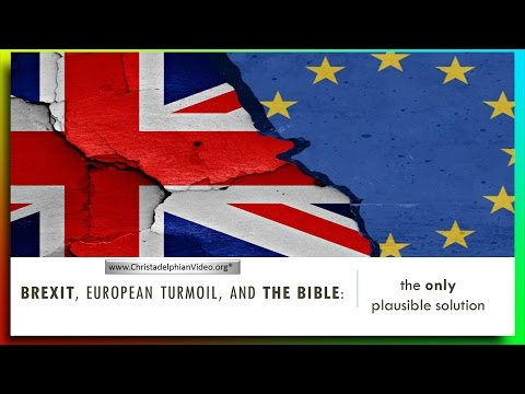 BREXIT: European Turmoil & Bible Prophecy - The Day after Cameron Resigns.